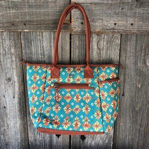 Pioneer Women Lunch Tote Bag Floral Insulated